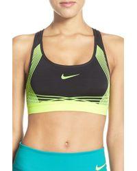 Nike - Multicolor 'pro Hypercool' Padded Sports Bra - Lyst