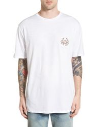 Barney Cools - White 'homie Crab' Graphic Crewneck T-shirt for Men - Lyst