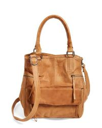 Day & Mood - Brown 'hannah' Leather Satchel - Lyst