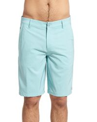 Rip Curl - Blue 'mirage Phase' Hybrid Shorts for Men - Lyst