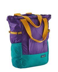 Patagonia   Tote Backpack - Purple   Lyst