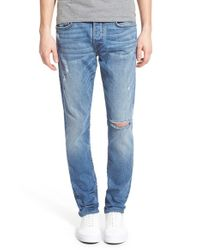 True Religion - Blue X Russell Westbrook 'rocco' Slim Fit Jeans for Men - Lyst