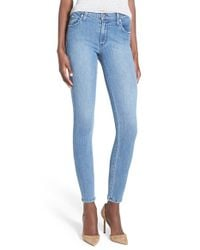 James Jeans - Blue Ankle Denim Leggings - Lyst
