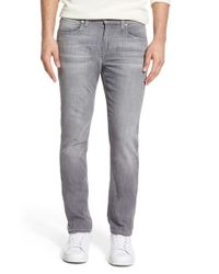 Joe's Jeans - Gray 'slim' Skinny Fit Jeans for Men - Lyst