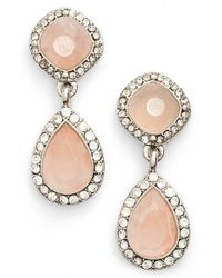 Samantha Wills - Natural 'new York Kiss' Double Drop Earrings - Lyst