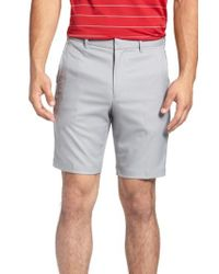 Bobby Jones | Blue 'tech' Flat Front Wrinkle Free Golf Shorts for Men | Lyst