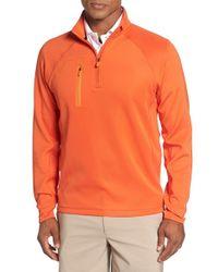 Bobby Jones | White Xh2o Crawford Stretch Quarter Zip Golf Pullover for Men | Lyst