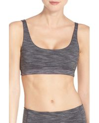 Outdoor Voices - Gray Scoop Neck Sports Bra - Lyst