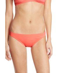 Vince Camuto - Pink 'milos' Bikini Bottoms - Lyst