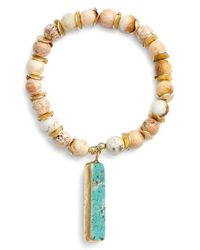 Elise M | Blue 'amelie' Beaded Bracelet | Lyst