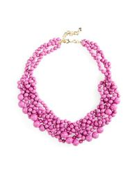 BaubleBar | Pink 'bubblestream' Collar Necklace | Lyst