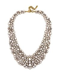 BaubleBar | Metallic 'kew' Crystal Collar Necklace | Lyst