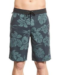 Jack O'neill - Orange 'akala' Floral Performance Board Shorts - Lyst