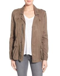 Pam & Gela - Brown Embroidered Jacket - Lyst