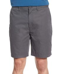 Patagonia | Gray 'all-wear' Organic Cotton Chino Shorts for Men | Lyst