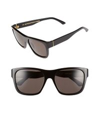 Retrosuperfuture - Super By Retrosuperfuture 'buzz Black' 57mm Sunglasses - Lyst