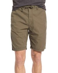 Relwen - Brown 'officer's Fatigue' Hiking Shorts for Men - Lyst