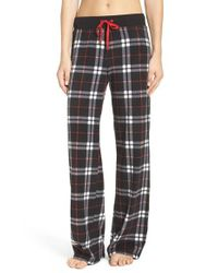 Make + Model | Black Fleece Pajama Pants | Lyst