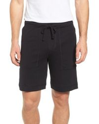 Alo Yoga - Black Revival Relaxed Knit Shorts for Men - Lyst