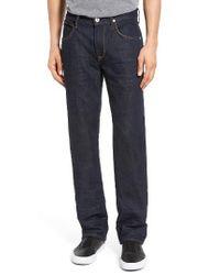 Hudson Jeans | Blue Byron Slim Straight Leg Jeans for Men | Lyst
