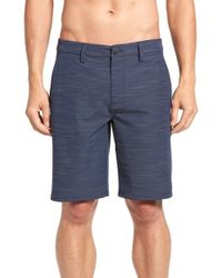 Rip Curl | Blue Jackson Boardwalk Hybrid Short for Men | Lyst
