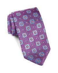 Robert Talbott - Purple Medallion Silk Tie for Men - Lyst