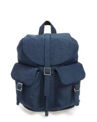 Lyst - Herschel Supply Co.  dawson  Nylon Backpack in Purple 44300254ac43a