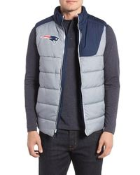 Nike | Gray Nfl - New England Patriots Quilted Vest for Men | Lyst