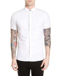 Tavik - White 'dresden' Woven Shirt for Men - Lyst