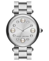 Marc Jacobs | Metallic 'dotty' Bracelet Watch | Lyst