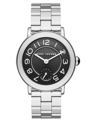 Marc Jacobs | Metallic 'riley' Bracelet Watch | Lyst