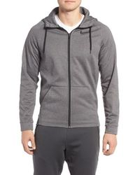 Nike | Gray Training Hoodie for Men | Lyst