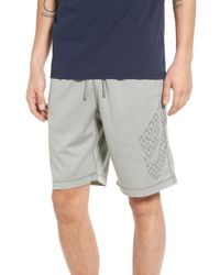 Nike | Gray Sb Grid Icon Sunday Dri-fit Shorts for Men | Lyst