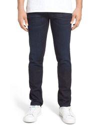 Nudie Jeans - Blue 'grim Tim' Slim Fit Jeans for Men - Lyst