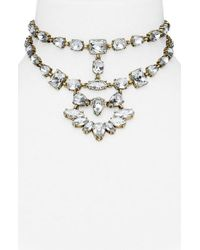 BaubleBar | Metallic Reina Bib Necklace | Lyst