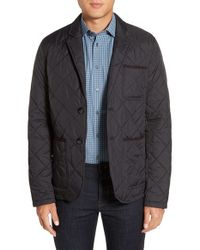 Vince Camuto | Black Water Resistant Quilted Jacket for Men | Lyst