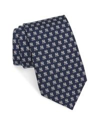 Vineyard Vines | Blue 'new York Yankees' Silk Tie for Men | Lyst