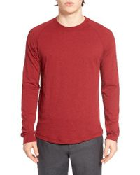 Original Penguin | Red New Bada Long Sleeve T-shirt for Men | Lyst