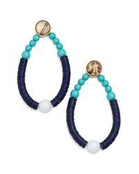 BaubleBar   Blue 'menorca' Drop Earrings   Lyst