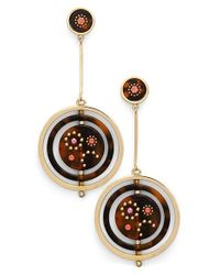 kate spade new york | Metallic 'out Of Her Shell' Drop Earrings | Lyst