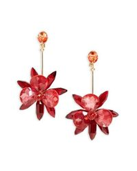 kate spade new york - Red 'blooming Brilliant' Drop Earrings - Lyst