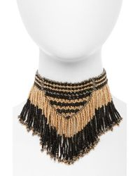Panacea | Multicolor Fringe Necklace | Lyst