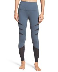 Zella | Gray Flash High Waist Leggings | Lyst