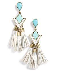 BaubleBar - Multicolor 'jem' Drop Earrings - Lyst