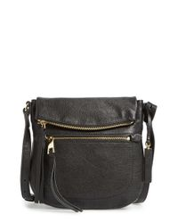 Vince Camuto - Black Tala Leather Cross-Body Bag - Lyst