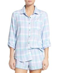 Make + Model | Blue Plaid Pajamas | Lyst
