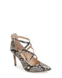 Vince Camuto | Natural 'neddy 2' Pointy Toe Pump | Lyst