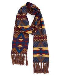 Pendleton - Multicolor Echo Peaks Merino Wool Fringe Scarf - Lyst