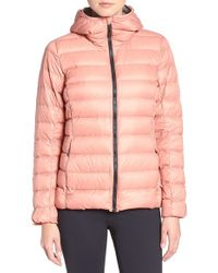096e02c14e87 Lyst - adidas Originals Down Jacket in Pink