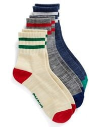 Chums | Blue '3p School' Socks for Men | Lyst